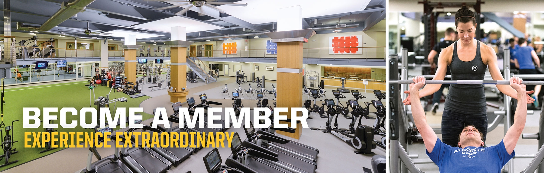 Fitness - Become a Member