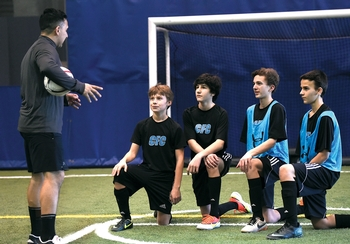 Chelsea piers adult soccer