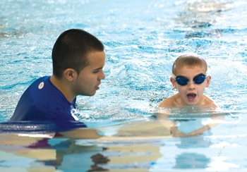 Little Athletes<br>Swimming Camp
