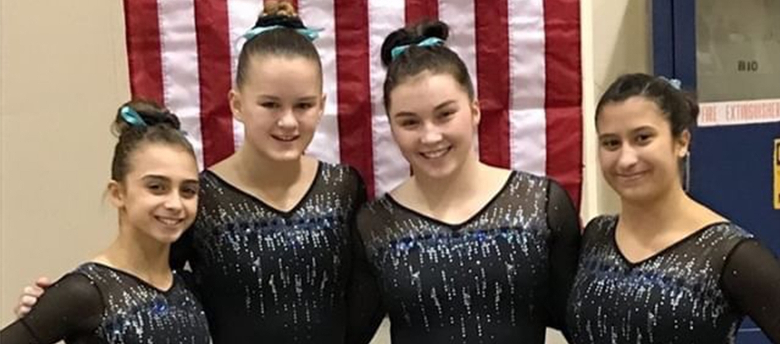 Gymnasts Compete at the American Invitational