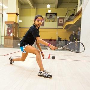 Squash Tournament Players
