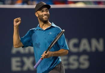 AN EVENING WITH TENNIS GREAT, JAMES BLAKE