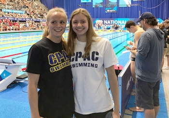 Chelsea Piers Connecticut sends two Swimmers to Phillip 66 Nationals